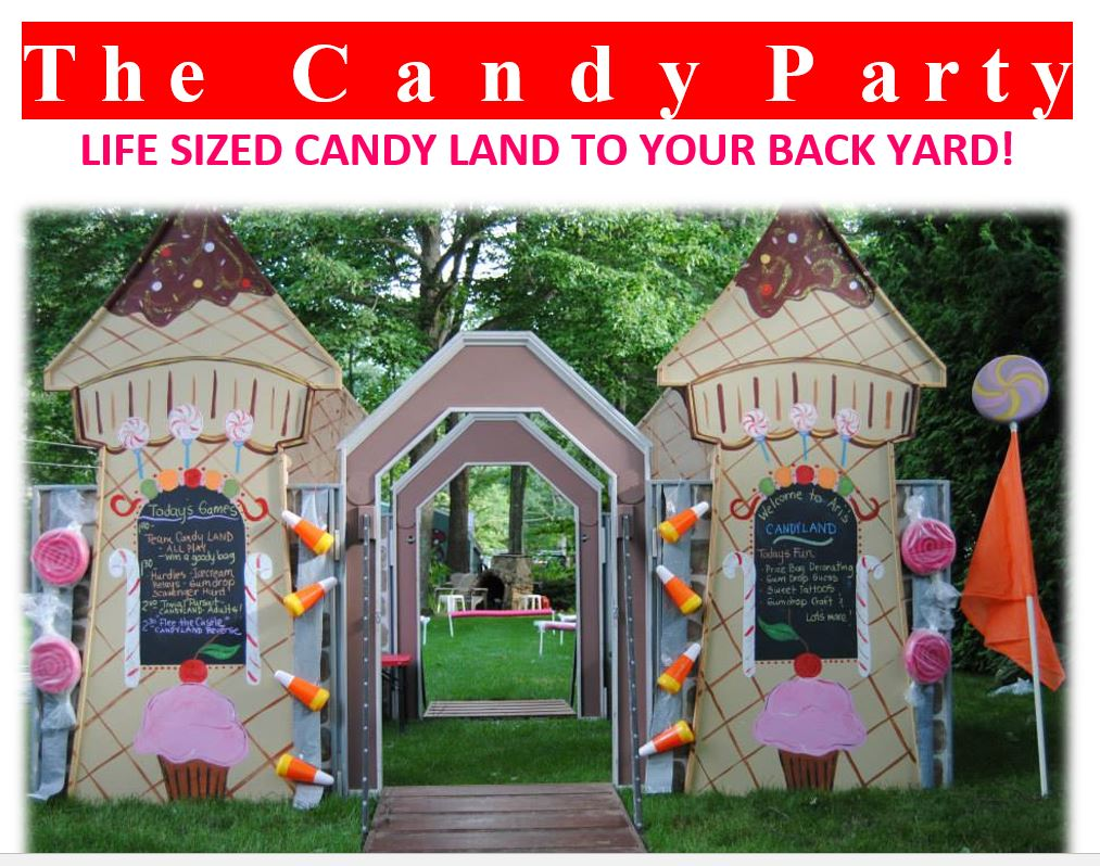 Life Sized Candy Land