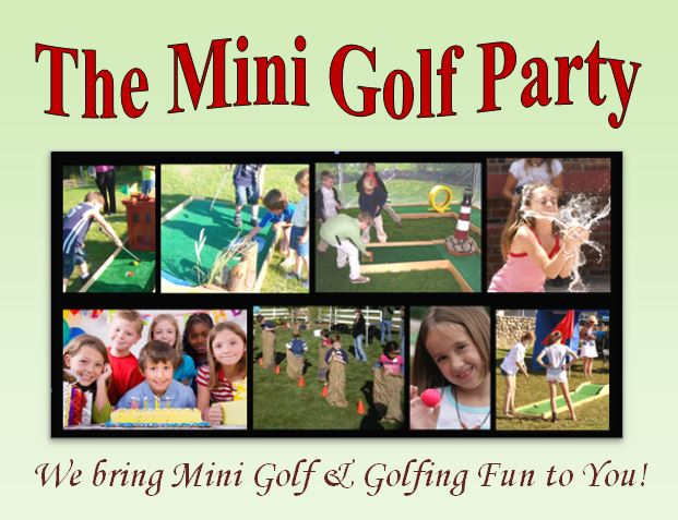 Mini Golf Party