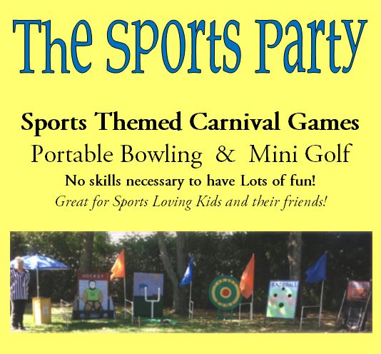 The Carnival Party Specializing In Childrens Birthday Parties - Children's birthday parties ri